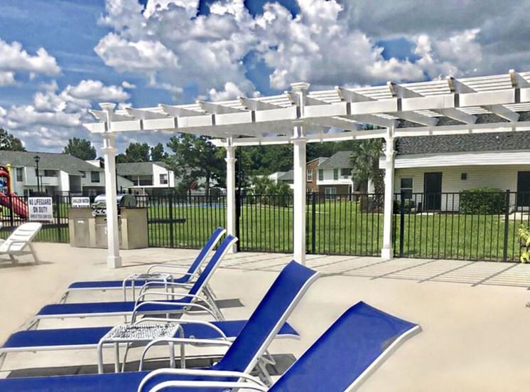 Pool 1800 West Ashley Apartments in Charleston SC