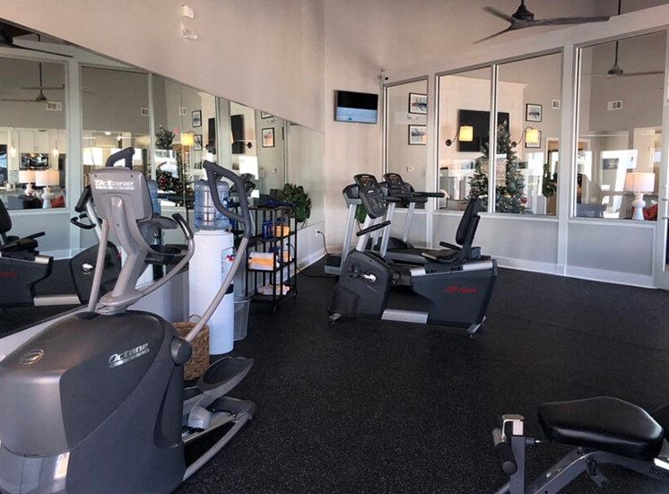 Gym 1800 West Ashley Apartments in Charleston SC