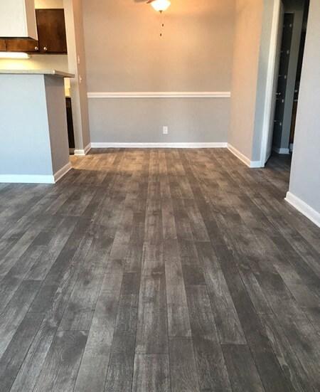 flooring at 1800 West Ashley Apartments