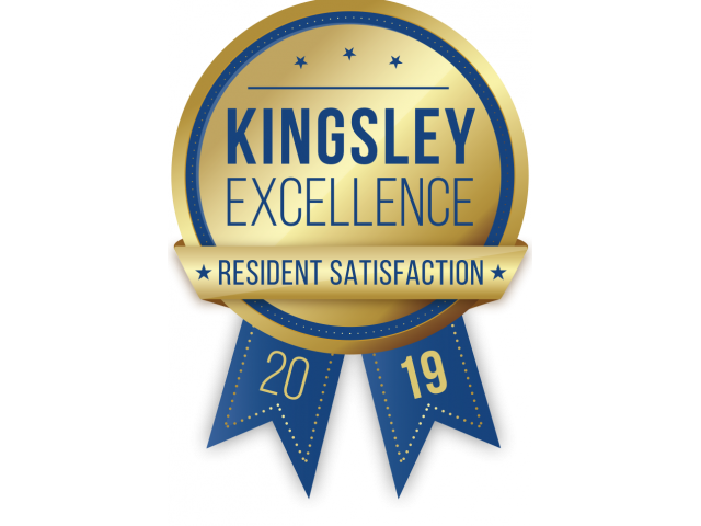 Kingsley Excellence Resident Satisfaction 2019