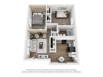 floor plan at 11 North Apartments