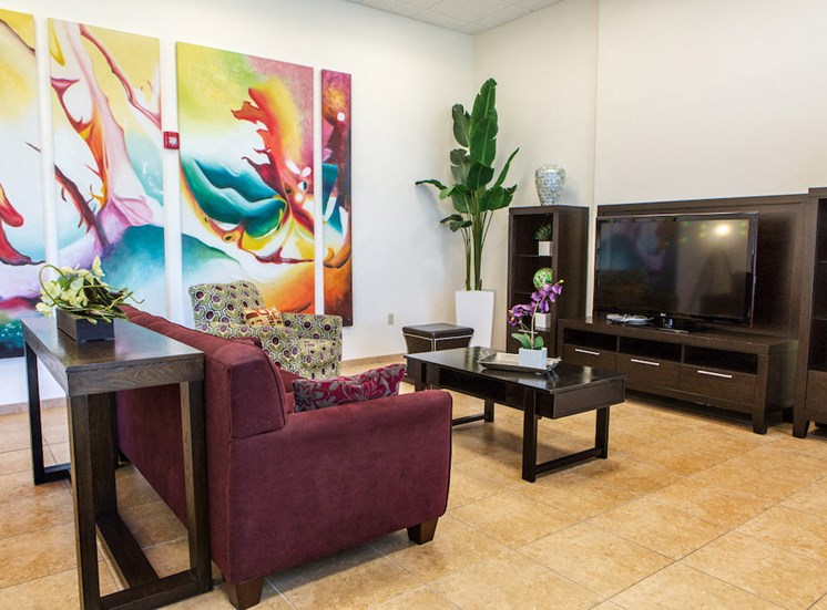 tv room with seating at Progresso Point