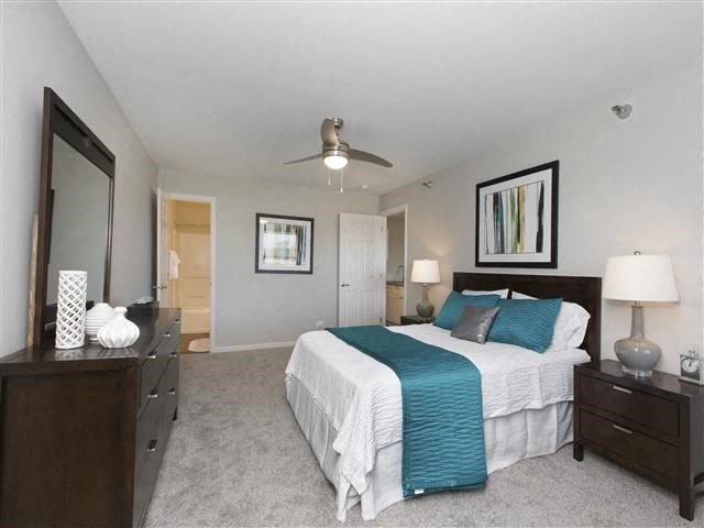 Ceiling Fans In All Bedrooms To Keep You Cool And Energy Efficient at Hunter's Glen, Aurora, Illinois