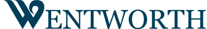Wentworth Apartments Blue Logo