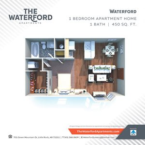 Waterford Apartments, 701 Green Mountain Dr., Little Rock ...