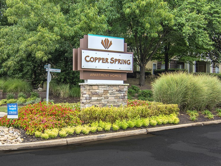 Copper Spring Main Entrance