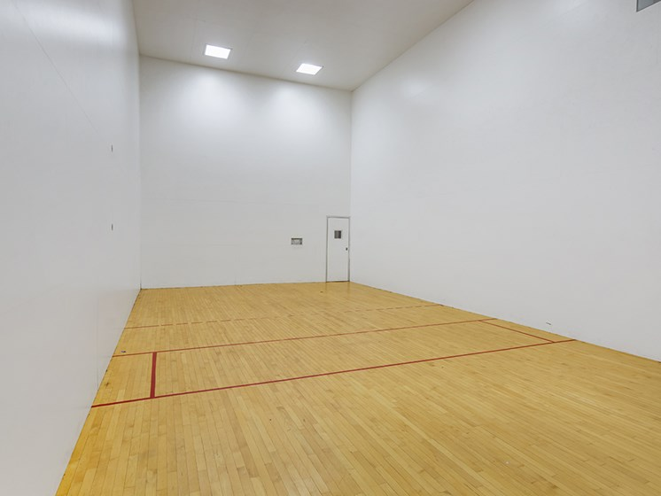 Copper Spring Racquetball Court