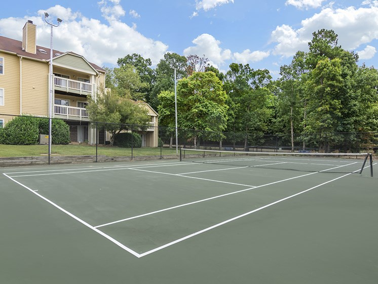 Copper Spring tennis Court