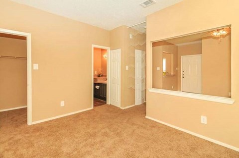 Living Room with an Open Floor Plan Concept