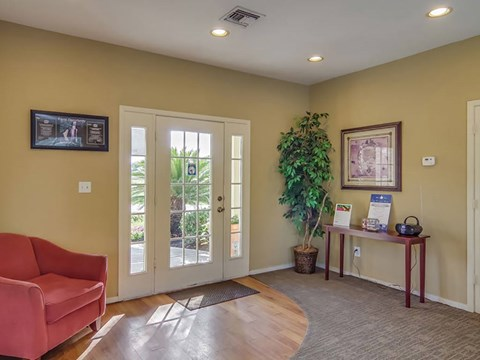 Savoy Manor Entrance to Leasing Office  | Northwest Houston Apartments For Rent | Savoy Manor