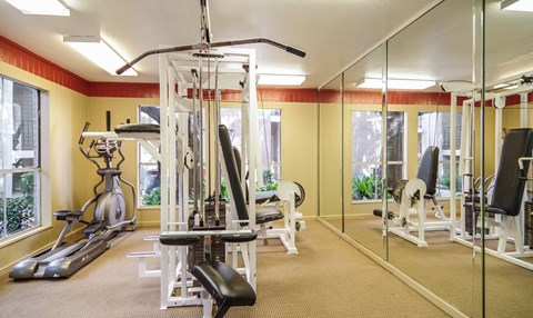 Fitness Center | Northwest Houston Apartments For Rent | Savoy Manor