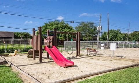 Community Playground | Northwest Houston Apartments For Rent | Savoy Manor