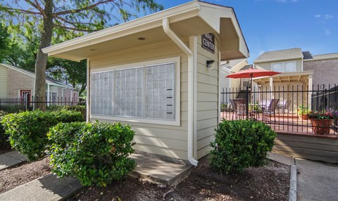 Resident Mailboxes | Northwest Houston Apartments For Rent | Savoy Manor