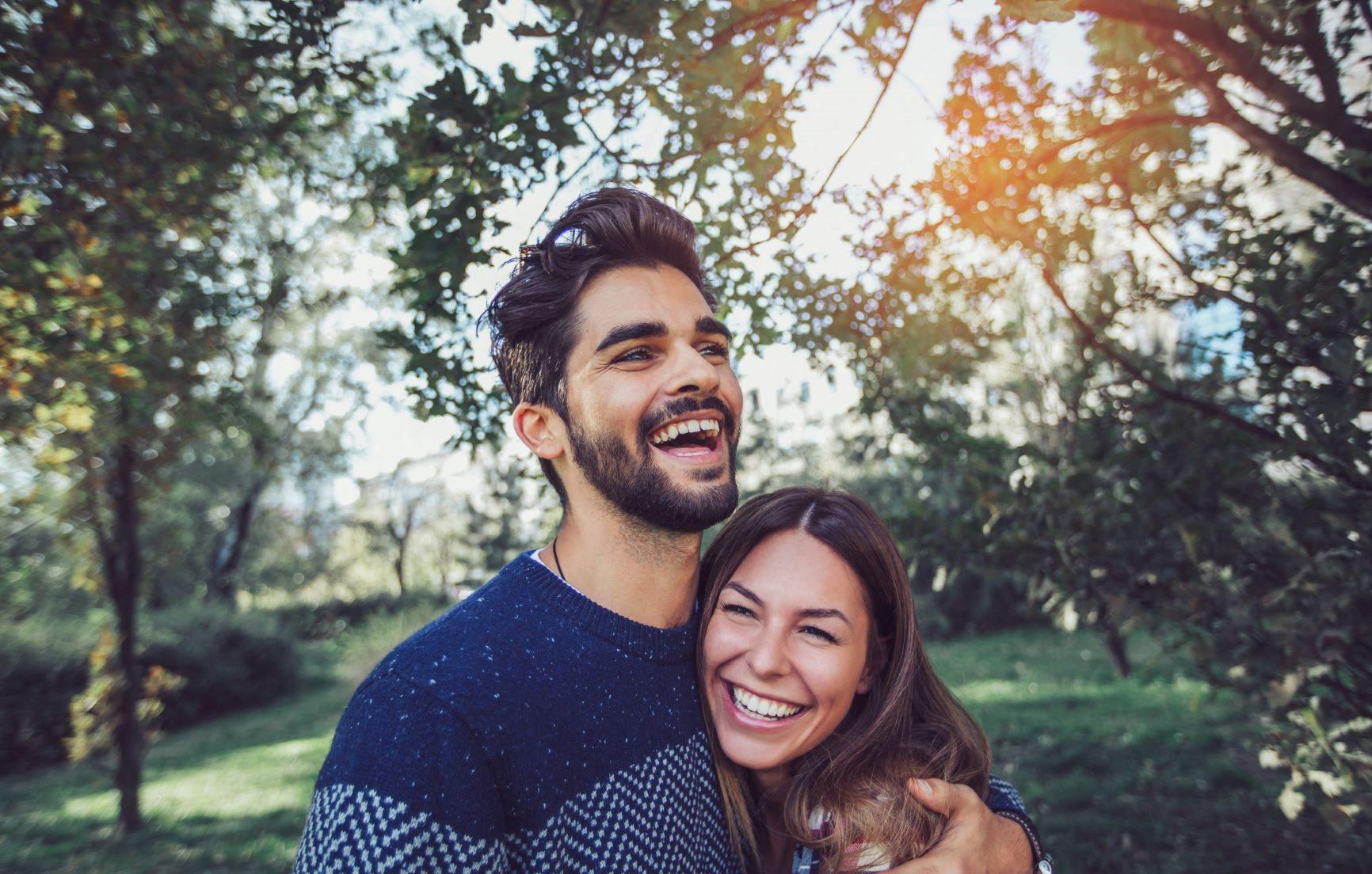 Image of a couple outside