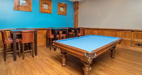 Billiards Table at Piedmont at Ivy Meadow, Charlotte, NC