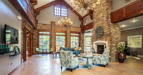 Luxurious Clubhouse With Television at Piedmont at Ivy Meadow, Charlotte