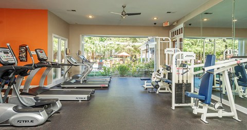 Fitness Center at Piedmont at Ivy Meadow, Charlotte, 28213