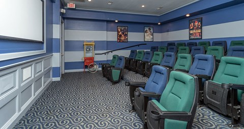 Community Movie Theater at Piedmont at Ivy Meadow, Charlotte, NC, 28213