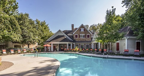 Swimming Pool at Piedmont at Ivy Meadow, Charlotte, NC