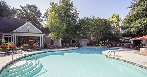 Resort-Style Pool at Piedmont at Ivy Meadow, Charlotte, 28213