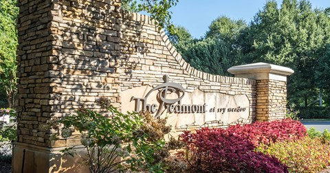 Elegant Sign Board at Piedmont at Ivy Meadow, Charlotte