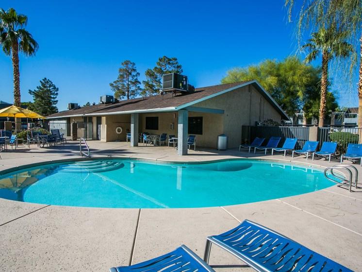 Two refreshing swimming pools