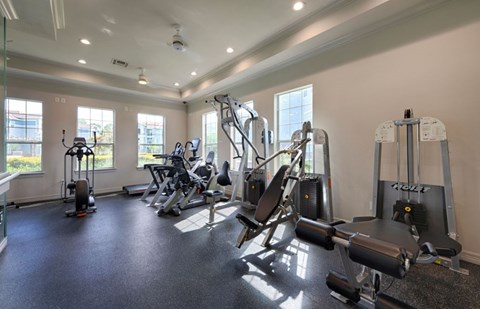 24 Hour Fitness Center |  Houston Apartments For Rent | Cambria Cove