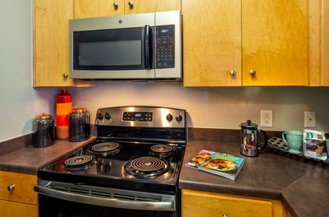Full Appliance Package in each Kitchen | Houston Apartments For Rent | Cambria Cove