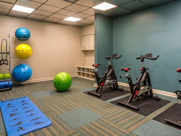 Flex Rooms With Fitness Space For Yoga, Spin And Pilates at The Summit, Alexandria