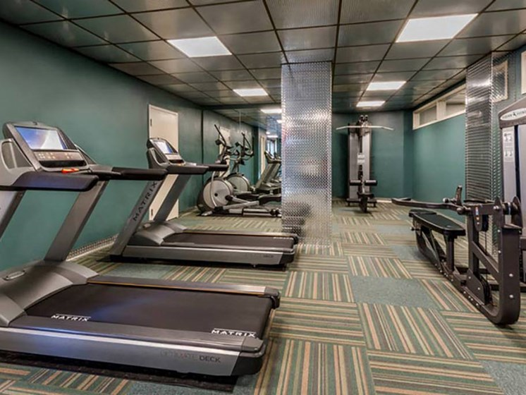 Cardio Equipment at The Summit, Alexandria, Virginia