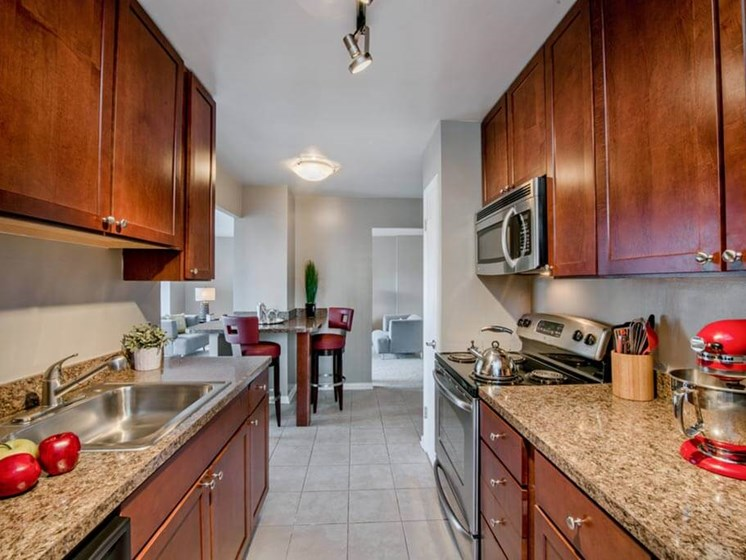 Stainless Steel Appliances at The Summit, Alexandria, 22304