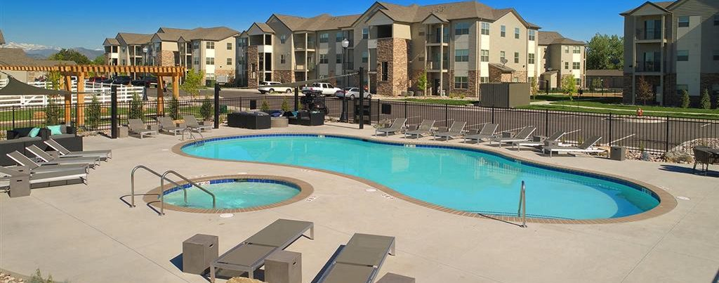 Soothing Spa And Pool at Pinyon Pointe, Loveland, 80537