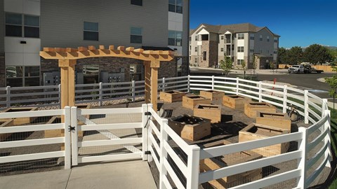 Courtyard Garden at Pinyon Pointe, Colorado, 80537