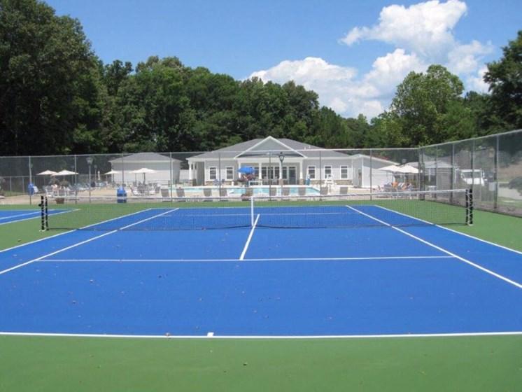 Tennis Court at Pines of York, Yorktown