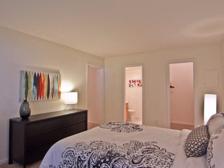 Large Bedroom at Pines of York, Virginia
