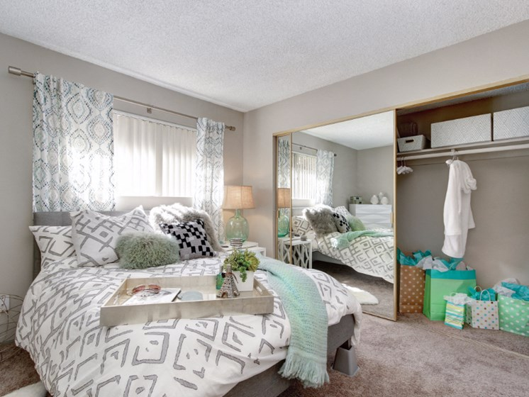 Master Bedroom With Adequate Storage at Point Bonita, California, 91910