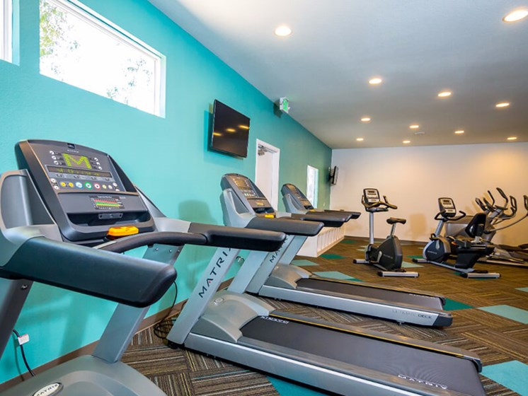 State of the Art Fitness Facility at SkyView Apartment Homes, Westminster, CO