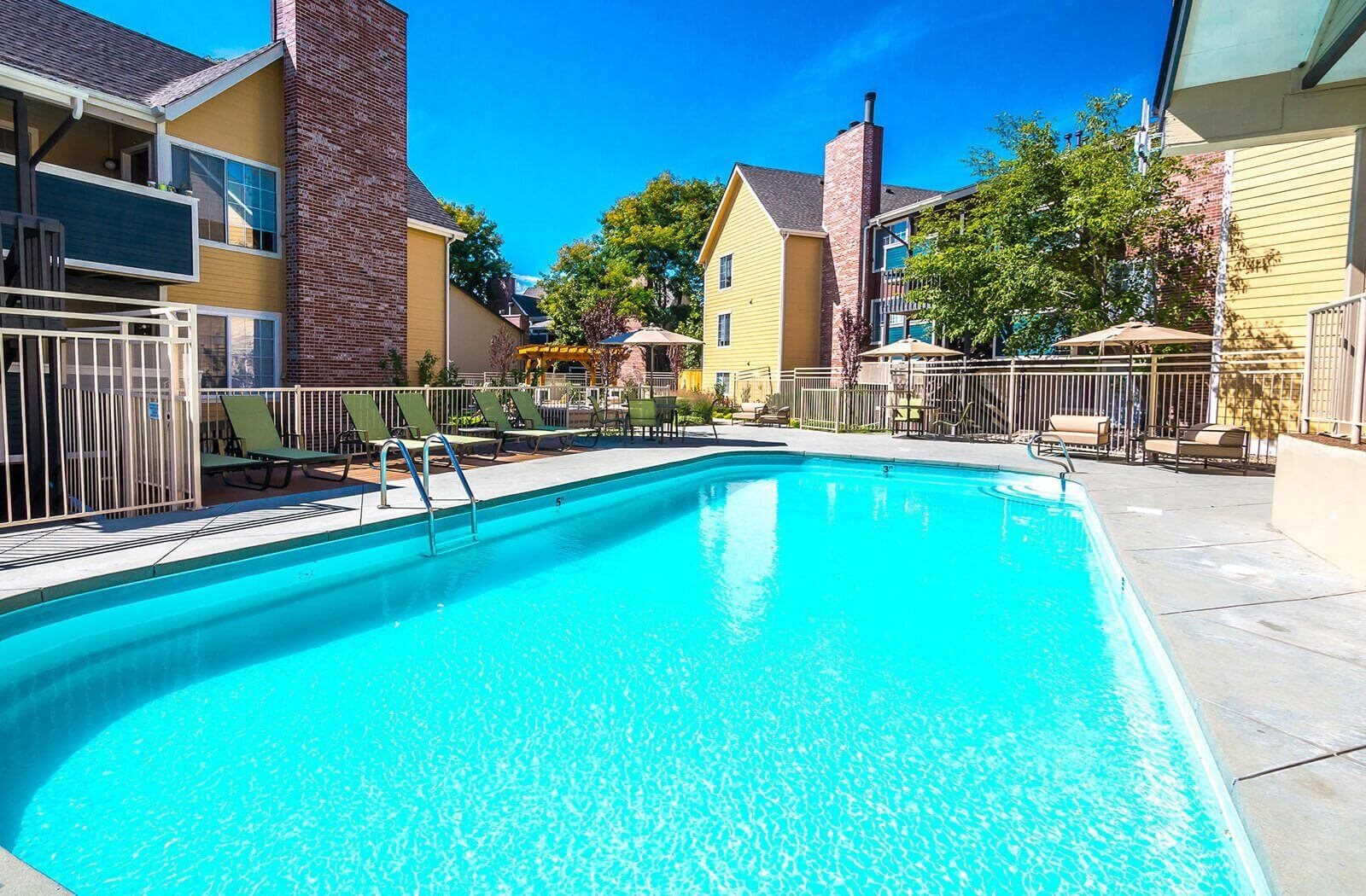 Relaxing Saltwater Pool at SkyView Apartment Homes, Westminster, CO