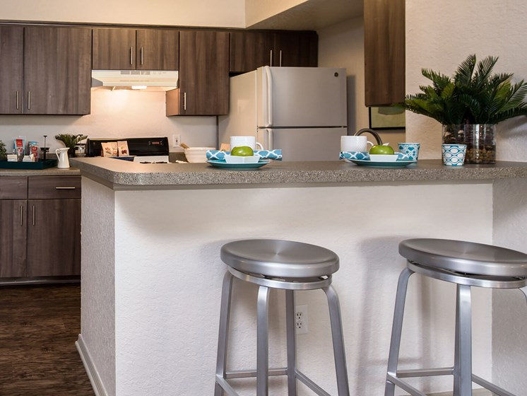 Kitchen with Breakfast Bar at The Terraces at Lake Mary, Lake Mary, 32746