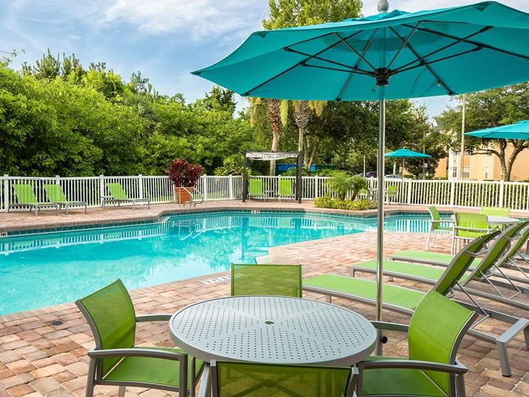 Pool The Terraces at Lake Mary Apartment Homes, Florida, Florida