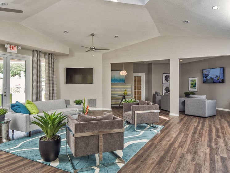 Resident Lounge at The Terraces at Lake Mary, Lake Mary, Florida