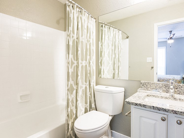 Bathroom at The Addison at Sandy Springs Apartment Homes, Sandy Springs