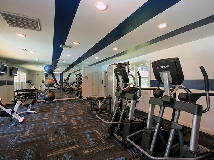 Fitness Center at The Addison at Sandy Springs Apartment Homes, Sandy Springs, GA