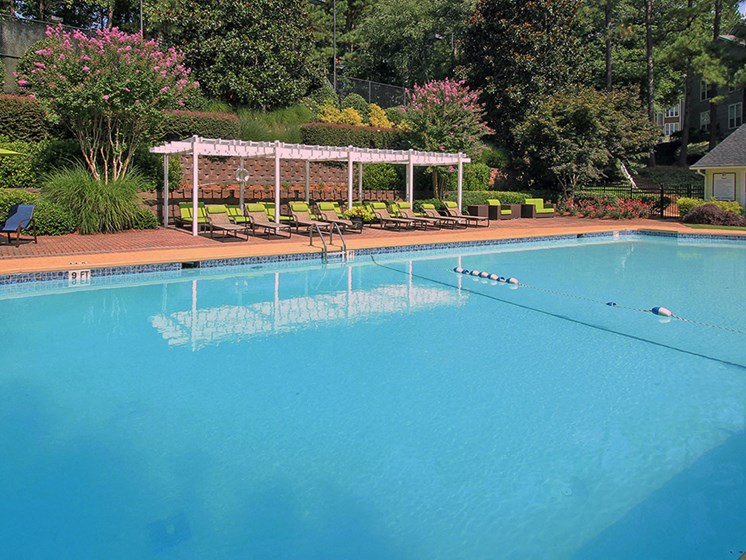 Swimming Pool & Sundeck at The Addison at Sandy Springs Apartment Homes, Sandy Springs, 30350