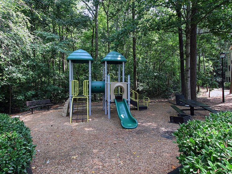 Playground at The Addison at Sandy Springs Apartment Homes, Sandy Springs, Georgia