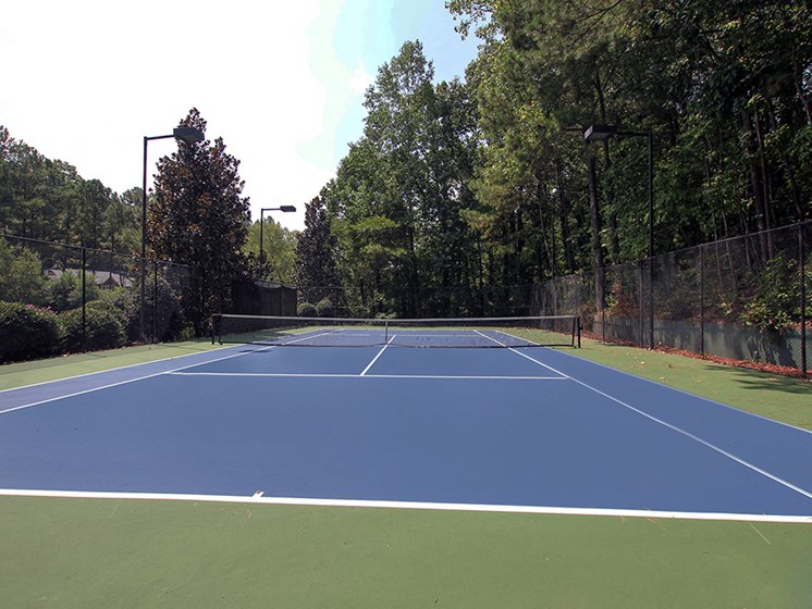 Tennis Court at The Addison at Sandy Springs Apartment Homes, Sandy Springs