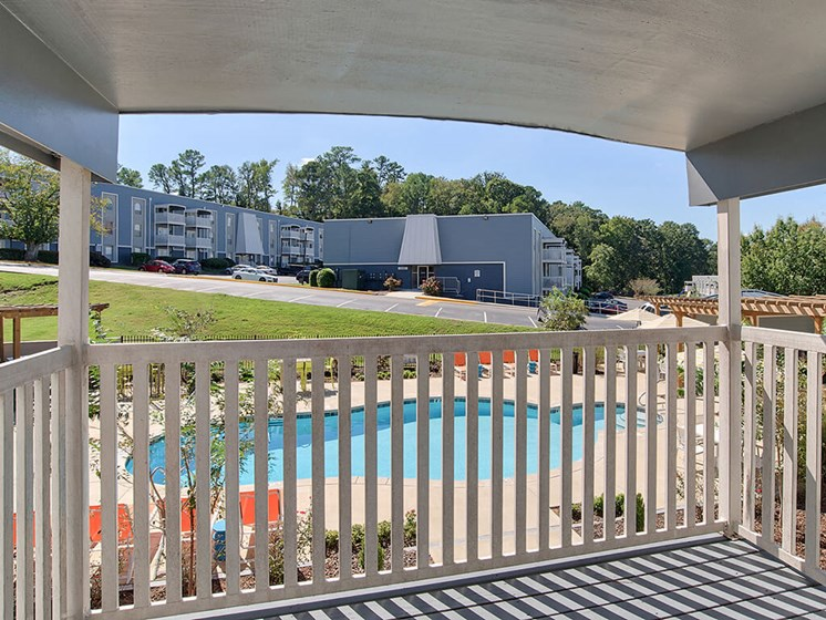 Screened Patios at The Brookwood Apartment Homes, Homewood