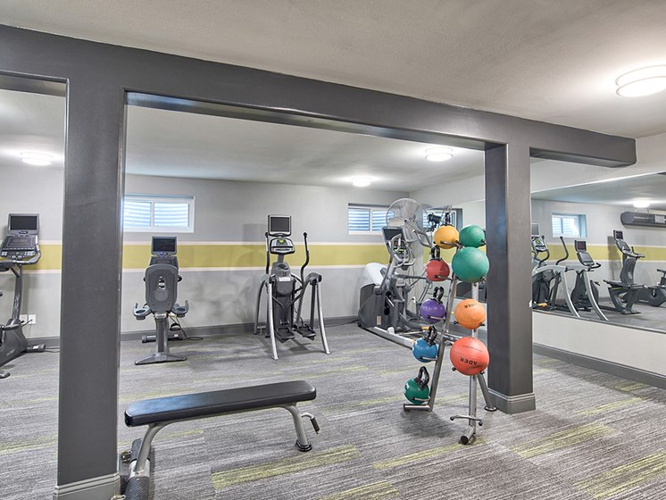State-of-the-Art Fitness Center at The Brookwood Apartment Homes, Homewood, AL