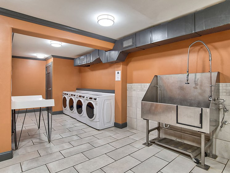 Community Laundry Area at The Brookwood Apartment Homes, Homewood, 35209