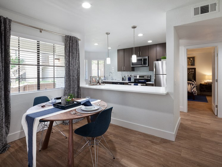 Kitchen Opens To The Dining Area, Perfect For Entertaining at The Bryant at Yorba Linda, Yorba Linda, California